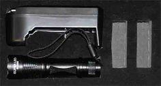 latarka uv banknotów bursztynów uranium ładowalna 395nm led