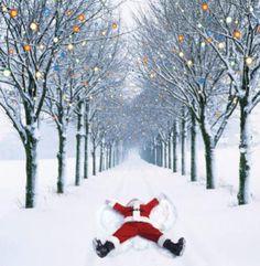 'Santa Snow Angel' Fab charity Christmas cards from Myeloma UK Luxury Christmas Cards, Charity Christmas Cards, Santa Christmas, Christmas Holidays, Father Christmas, Xmas Cards, Handmade Christmas, Christmas Ideas, Greeting Cards
