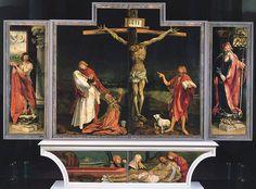 Erste Schauseite des Isenheimer Altars - Isenheimer Altar – Wikipedia