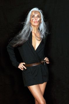 """""""I like the way I look now more than how I looked 20 years ago,"""" she revealed. """"My body is nicer and I feel happier than when I was 20."""" 