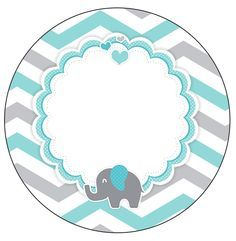 19 Ideas Baby Shower Varon Ideas Manualidades Can be your child's birthday approaching? Elephant First Birthday, Elephant Party, Elephant Baby Showers, Baby Elephant, Baby Shower Brunch, Baby Shower Cupcakes, Baby Boy Shower, Imprimibles Baby Shower, Baby Shower Invitaciones