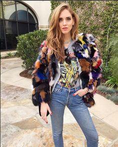 Chiara Ferragni l The Blond Salad l Iron Maiden tee #SS16