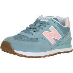 New Balance Damen Sneaker 574 Leder Mesh Synthetik türkis - hier bestellen! 4f18899c60