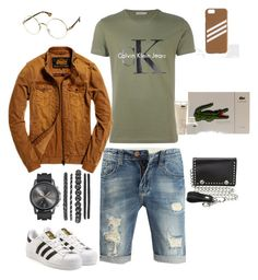 """""""I'm just chilling - Flee"""" by mrmcflee on Polyvore featuring Calvin Klein Jeans, adidas, Superdry, M&F Western, adidas Originals, men's fashion and menswear"""