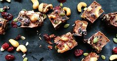 Let's Cook - a recipe for cacao and carob fruit 'n' nut nibbles #Baking, #Cooking, #Food, #Recipes