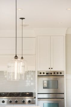 Glass Pendant Lights Make A Real Statement In The Kitchen