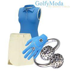 Golf y Moda: No Pases Calor Jugando al Golf www.golfymoda.com Outfits, Polyvore, Fashion, Golfers, Step By Step, Moda, Fashion Styles, Clothes, Fashion Illustrations