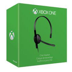 Xbox One Chat Headset, XBOX ONE, MICROSOFT