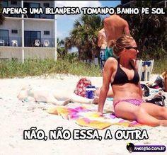 Camuflagem na praia.. tá ai sim... procura...