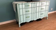 Turquoise French Dresser for my customer