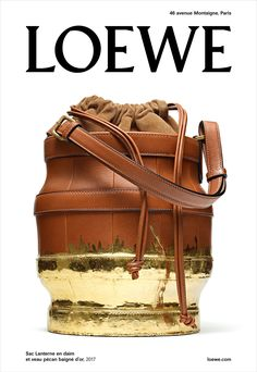 Loewe's Fall 2017 Ad Campaign, Photographer Steven Meisel shot model Max Overshiner, Agency M/M Paris, TheImpression.com - Fashion News