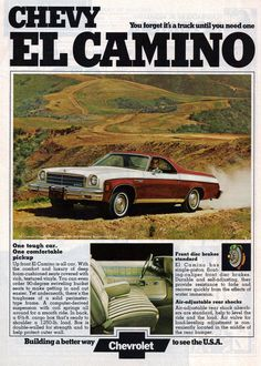 1974 El Camino | Saved From The Paper Drive