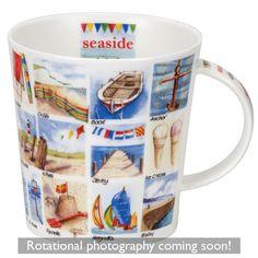 Seaside Alphabet ~ Cairngorm shape Mug ~ Dunoon Black Coffee, Seaside, Drinking, Alphabet, Coffee Mugs, Cups, Shapes, Interior Design, Tableware