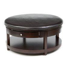 Coffee Tables - Shape: Oval-Round | Wayfair