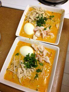 Modified Singaporean Laksa Recipe
