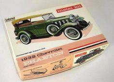 Hurley/Gabriel 1932 Chevrolet Phaeton Metal Model Kit - Car Unassembled - http://hobbies-toys.goshoppins.com/models-kits/hurleygabriel-1932-chevrolet-phaeton-metal-model-kit-car-unassembled/