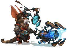 """Mondo Zax"" of Wildstar MMORPG // Art Design"