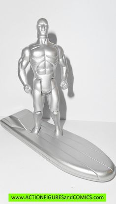 marvel super heroes toy biz SILVER SURFER 1990 series 1 action figures universe