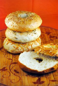 Bagel Recipe as The Best Patissier - Bagel Bread No Salt Recipes, Quick Recipes, Quick Easy Meals, Pain Bagel, Bagel Bread, Greek Yogurt Chicken Salad, Bagels, Tips & Tricks, Dough Recipe