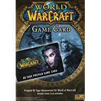 World of Warcraft 60 Day Pre-Paid Time Card * Suitable only for the EU (!) version of World of Warcraft Xbox, World Of Warcraft Game, Activision Blizzard, Riot Points, Mac Games, Nintendo, Game Codes, Thing 1, Pre Paid