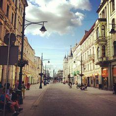 Piotrkowska in Łódź, Lódzkie