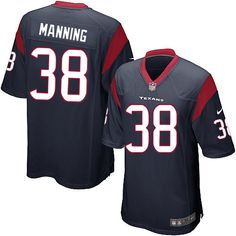 danieal manning jersey houston texans 38 men game jersey navy blue rh marchmeadows com