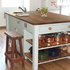 kitchen islands that look like furniture | ISLANDS FURNITURE DESIGN MOBILE KITCHEN ISLAND « Kitchen Design Ideas