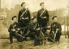 Russian soldiers - WWI and Russian Civil War/Revolution era