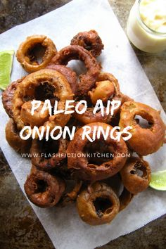 Fried Onion Rings | Flash Fiction Kitchen