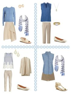 Yes, I promised a capsule wardrobe with turquoise and purple. I should have taken a look at what's still available for summer before I spok...