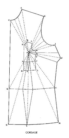 How to enlarge/re-size/grade a drafting pattern piece ***Image only, sadly.. the link doesn't work.