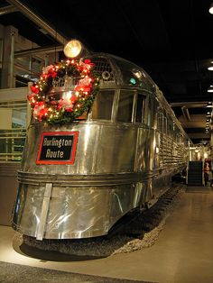 Pioneer Zephyr.  The complete train is preserved perfectly and lives at the Chicago Museum of History and Industry.  I've seen it and can't wait to return.  Amazing train!