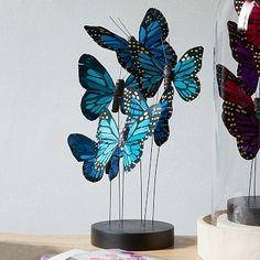 Butterflies on Stand #westelm