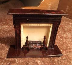 Dollhouse Miniature Fireplace