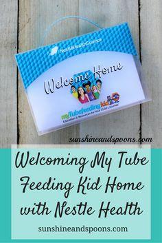 Welcoming My Tube Feeding Kid Home with Nestle Health