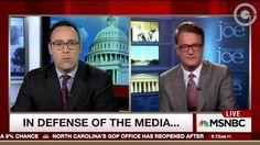 """Joe Scarborough Slams Media for """"Deplorable"""" Anti-Trump Bias"""