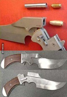 Is it a gun? Is it a knife? No, it's a stab-shooter.