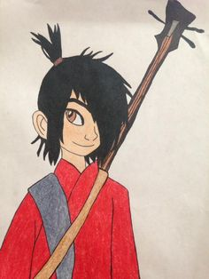 Kubo from Kubo and the Two Strings Kubo And The Two Strings, Coraline, Young Boys, Troll, Storytelling, Disney Characters, Fictional Characters, Two By Two, Hero