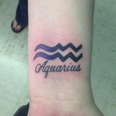 35 Unique Aquarius Sign Tattoo Designs and Ideas - Zodiac Eleventh Sign Check more at http://tattoo-journal.com/35-unique-aquarius-sign-tattoo-designs-and-ideas-zodiac-eleventh-sign/