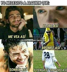 O sea One Direction One Direction Humor, One Direction Pictures, 5sos, Spanish Jokes, Crazy People, Larry Stylinson, Read News, Favorite Person, Louis Tomlinson