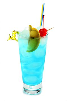 """Adios Motherfucker: Also known as a """"Code Blue"""" or """"Blue Fucker"""" due to its azure hue, this concoction is topped with Sprite (or another lemon-lime soda) instead of Coca-Cola and use blue curacao liqueur instead of triple sec (Cointreau"""