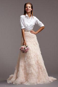 Wishesbridal A Line Bridal Wedding Dress