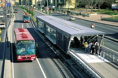 Connection of Neighborhoods  - quality of life implies the adoption of measures to ensure urban mobility aimed at accessibility to all existing services and opportunities. In 2000, a rapid transit bus system capable of meeting Bogota's recent growth was created. The plan relies on trunk corridors with single-use track, stations, bridges, bike paths and squares to facilitate the use of the system and allow the user to get around to any part of the city.