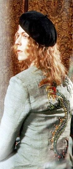 David Bowie 70s (photo by Bryan Ward).