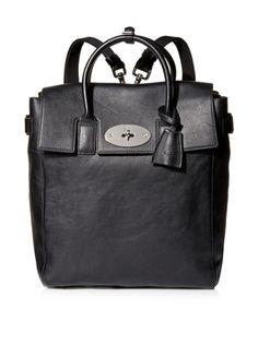 Mulberry Large Cara Delevingne Backpack Bag Black
