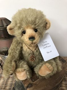 Ferris 2018 Isabelle Collection Mohair Limited Edition Teddy Bear no 65 Charlie Bears, Teddy Bears, Hand Stitching, Friends, Cute, Animals, Collection, Amigos, Animales