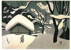 Kiyoshi Saitô (1907-1997) Grabador y pintor japonés. Nace en 1907 en una pequeña aldea de la prefectura de Fukushima llamada Bange. Tras pasar la mayor parte de su infancia y adolescencia en Hokkai…