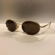 3daa0eae4b3 Christian Dior Edith Vintage Sunglasses Gold Mint con! Super Rare!!   affilink  vintagesunglasses  vintage