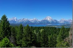Grand Teton National Park; From Signal Mountain