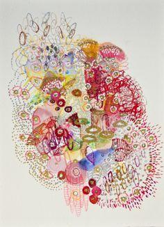 "Saatchi Art Artist: Lia Porto; Mixed Media 2013 Painting ""lovely carrots """